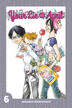 Your Lie in April Manga Vol.   6