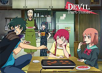 Devil is a Part-Timer Wall Scroll - Yakinku BBQ [LONG]