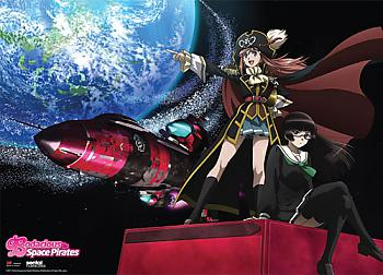 Bodacious Space Pirates Wall Scroll - Group [LONG]