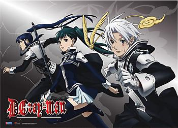 D Gray Man Wall Scroll - Kanda/Lenalee/Allen Dash [LONG]