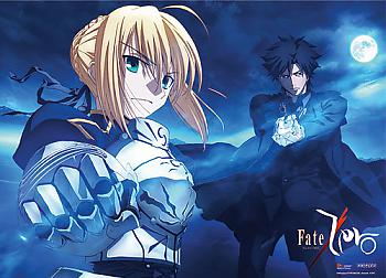 Fate/Zero Wall Scroll - Saber and Kiritsugu [LONG]