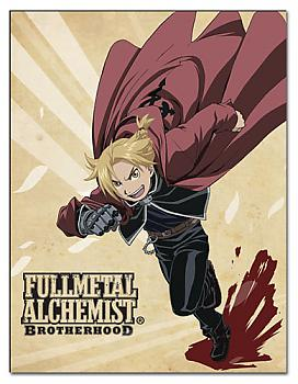 Fullmetal Alchemist Brootherhood Blanket - Ed Running
