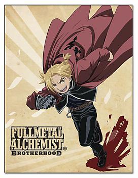 Fullmetal Alchemist Brootherhood Blanket - Ed Running