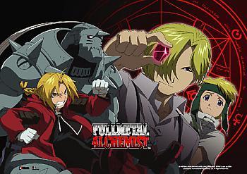 Fullmetal Alchemist Wall Scroll - Brothers [LONG]