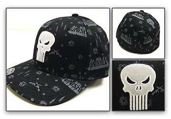 Punisher Cap - Skull and Weapons