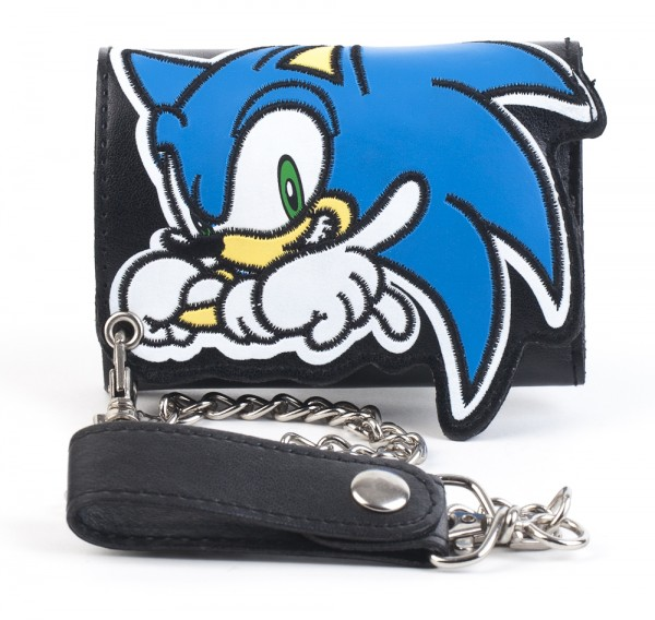 Sonic The Hedgehog Wallet Sonic On Black W Chain Archonia Us