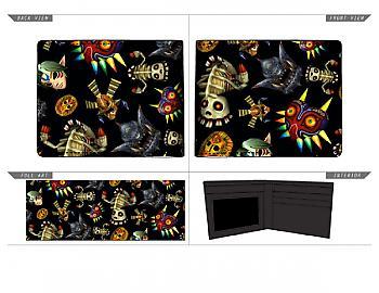 Zelda Bifold Wallet - Majora's Mask Collage Quickturn