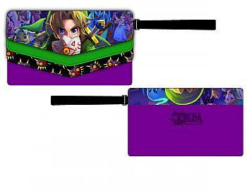 Zelda Wallet - Majora's Mask Triple Flap Para Mujer
