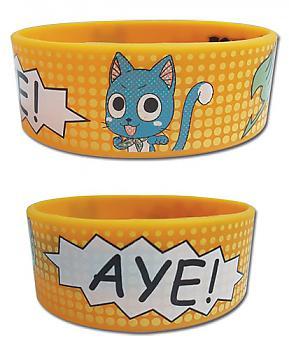 Fairy Tail Wristbands - Happy Aye Manga