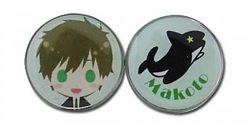 Free! Earrings - SD Makoto