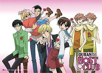 Ouran High School Host Club Wall Scroll - Casual Wear [LONG]