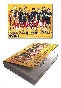 Hiakyu!! Memo Pad - Group 1