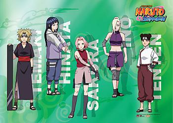 Naruto Shippuden Wall Scroll - Deadly Ladies [LONG]