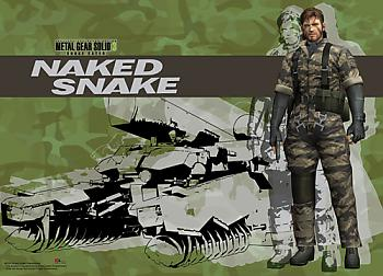 Metal Gear Solid 3 Wall Scroll - Snake and Shagohod [LONG]