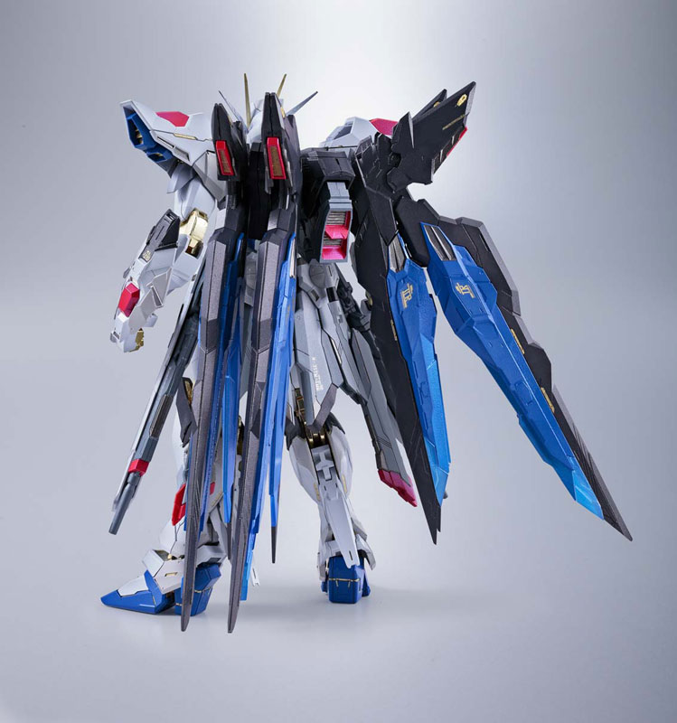Gundam Seed Destiny Action Figure - Strike Freedom Metal Build @Archonia_US
