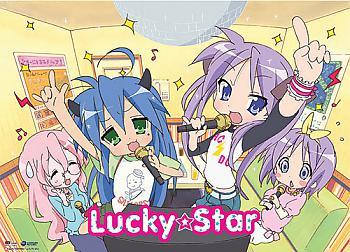 Lucky Star Wall Scroll - Karaoke Time [LONG]
