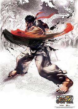 Street Fighter IV Wall Scroll - Ryu