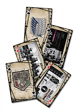 Attack on Titan - Playing Cards