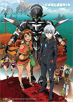 Gargantia on the Verdurous Planet Wall Scroll - Key Art