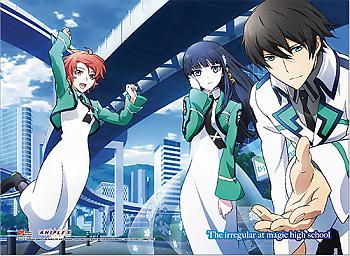 Irregular at Magic High School Wall Scroll - Erika, Miyuki & Tatsuya [LONG]