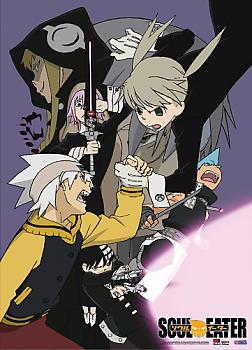 Soul Eater Fabric Poster - Battle Time
