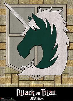 Attack on Titan Wall Scroll - Military Regiment Emblem