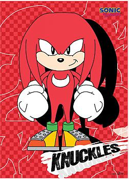 Sonic The Hedgehog Wall Scroll - Knuckles