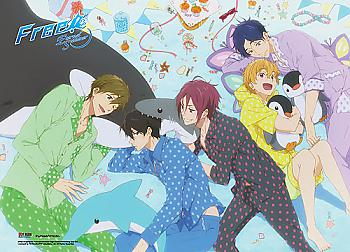 Free! Wall Scroll - Slumber Party [LONG]