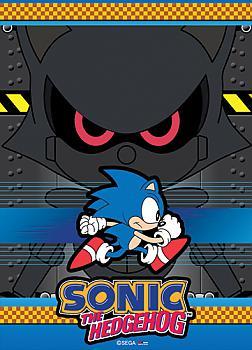 Sonic The Hedgehog Wall Scroll - Dark Robot