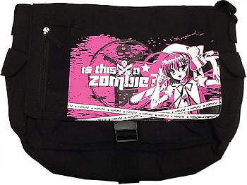 Is This A Zombie? Messenger Bag - Haruna Pink