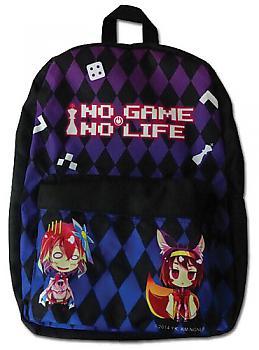 No Game No Life Backpack - Steph & Izuna