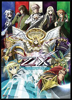 Z/X Ignition Wall Scroll - Key Art