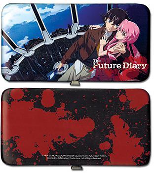 Future Diary Hinge Wallet - Yuno & Yukiteru