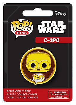 Star Wars POP! Pins - C-3PO