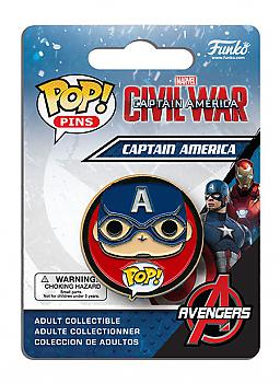 Captain America 3 POP! Pins - Captain America (Civil War)
