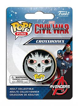 Captain America 3 POP! Pins - Crossbones (Civil War)