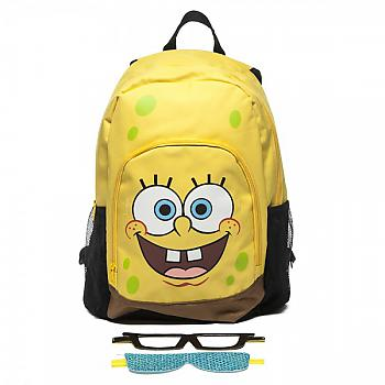 SpongeBob SquarePants Backpack - SpongeBob SquarePants w/ Velcro Glasses