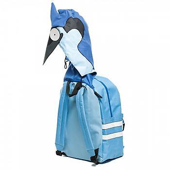 Regular Show Backpack - Mordecai Hooded