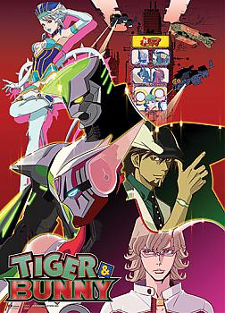 Tiger & Bunny Wall Scroll - Group