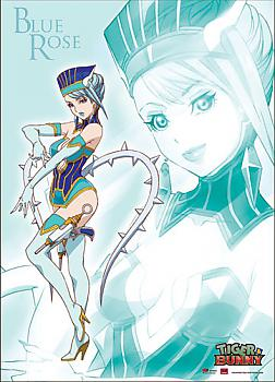 Tiger & Bunny Wall Scroll - Blue Rose