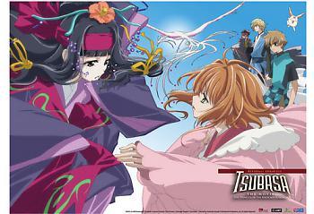 Tsubasa Movie Wall Scroll - Sakura and Tomoyo [LONG]