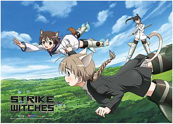 Strike Witches Wall Scroll - Flying in the Sky [LONG]