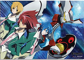 Star Driver Wall Scroll - Group [LONG]