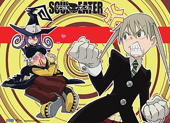 Soul Eater Wall Scroll - Two Timing Soul [LONG]