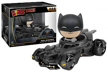 Batman V Superman Dawn of Justice Dorbz Ridez Vinyl Figure - Batman & Batmobile