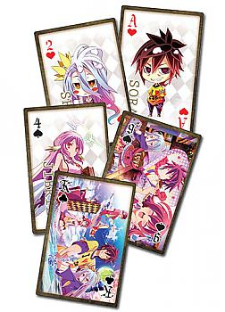 No Game No Life Play Cards
