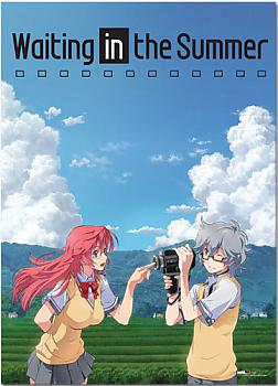 Waiting in the Summer Wall Scroll - Ichika & Kaito