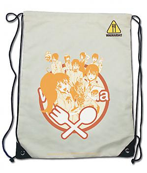 Wagnaria!! Drawstring Backpack - Group