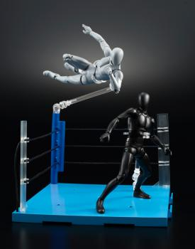 Tamashii Stage: ACT Ring Corner the Challenger's Corner Stage for Action Figures