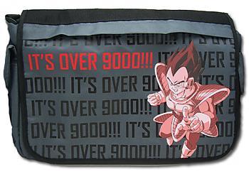 Dragon Ball Z Messenger Bag - Vegeta It's Over 9000